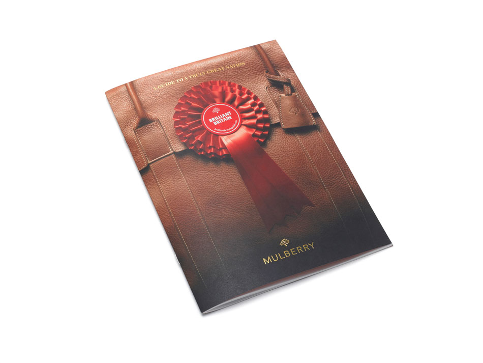Brilliant Britain Booklet Leather Craft Cover