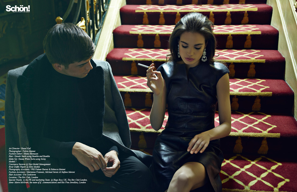 Casino Royale / River Viiperi &amp; Constanza Saravia for Hugo Boss 