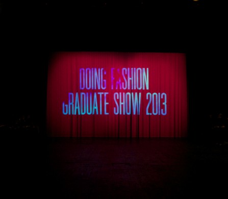Doing Fashion Graduate SHow 2013, Basel Photography / Shoji Fujii