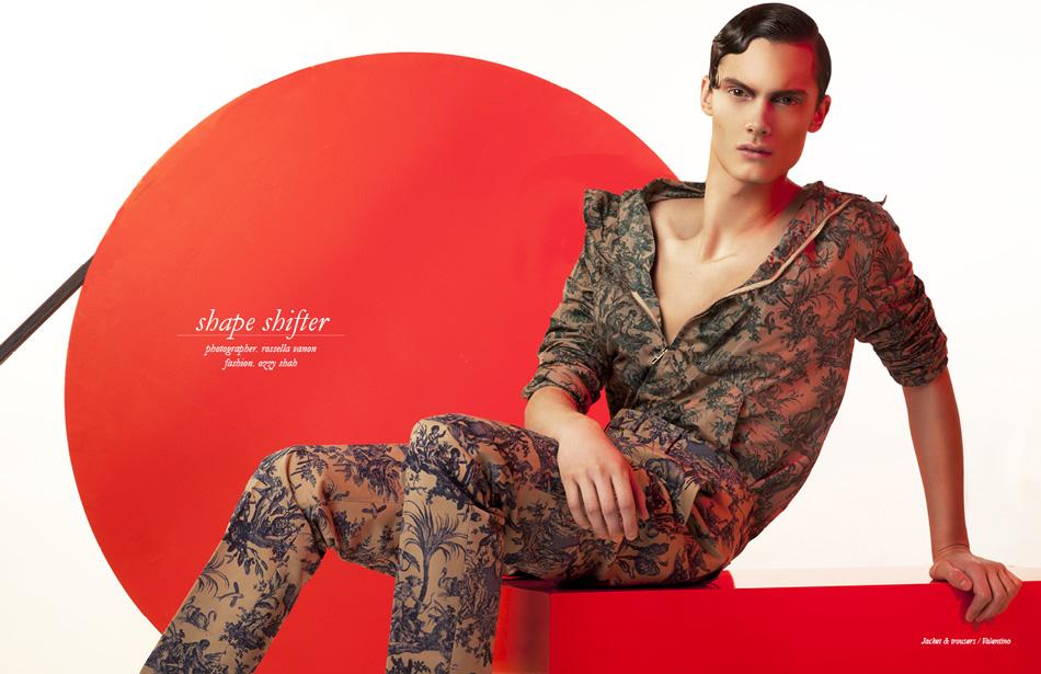 Photographer / Rossella Vanon Fashion / Ozzy Shah Jacket & trousers / Valentino
