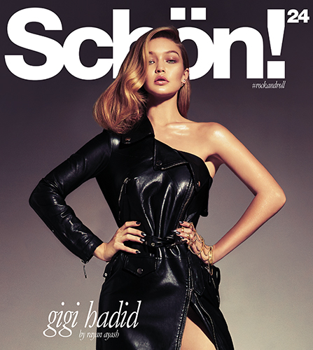 Gigi Hadid by Rayan Ayash for Schön! 24