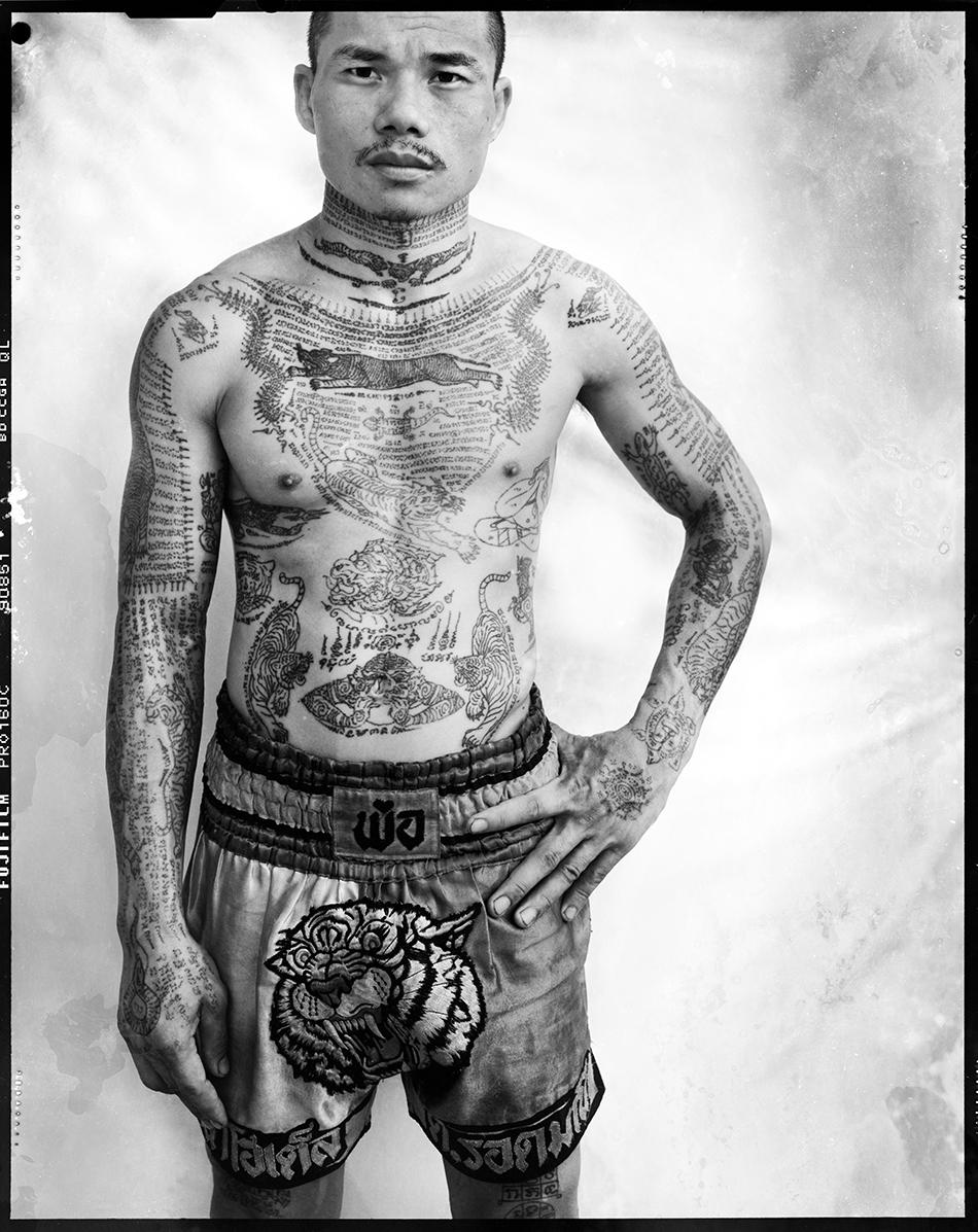 Tattooists tattooed sch n magazine for Bangkok tattoo prices
