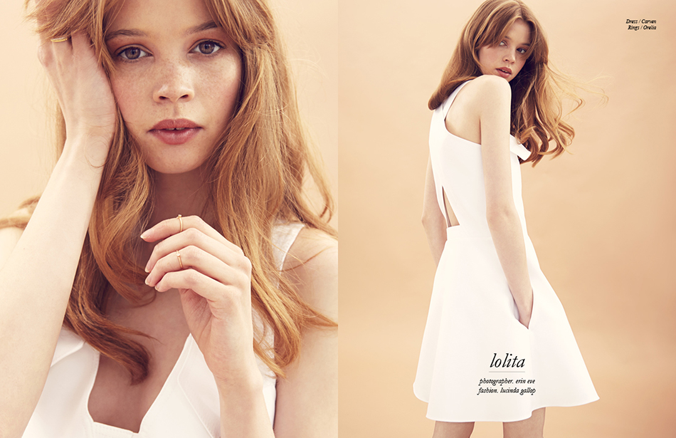 Dress / Carven Rings / Orelia