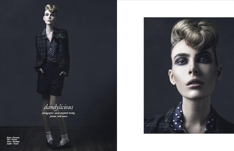 Blazer / Elevenses Shirt / Trovata Shorts / Ted Baker Loafers / Chanel