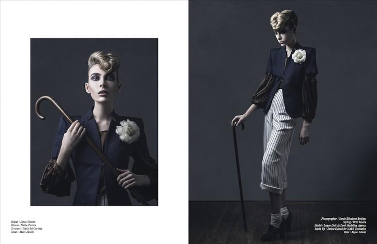 Blazer / Louis Vuitton Blouse / Nellie Partow Trousers / Stella McCartney Shoes / Marc Jacobs