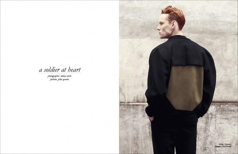 Jacket / Ivanman  Trousers / Sissi Goetze