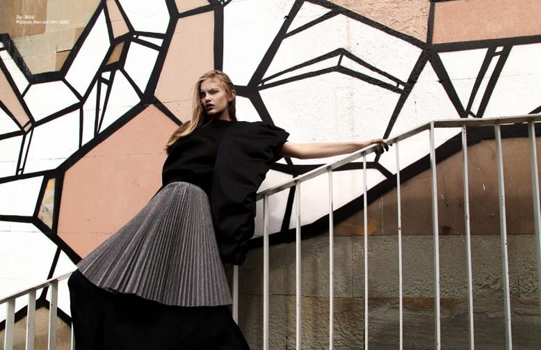 Top / H&M Waistcoat, dress and skirt / MMC