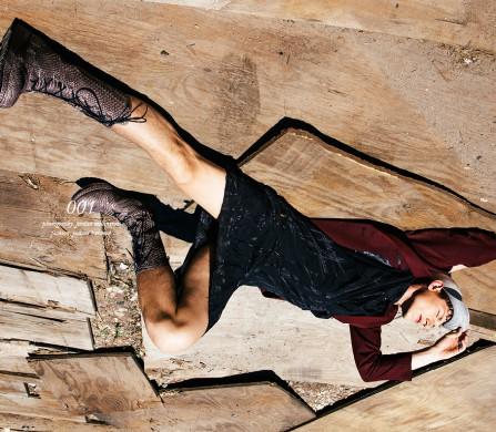 Hat / Reinhard Plank Blazer / Strateas Carlucci Dress & boots / Alexandre Plokhov