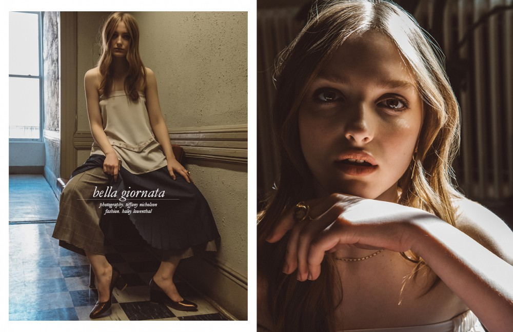 Skirt Worn As Top / Babyghost Skirt / Karen Walker Trousers / Audra Shoes / Maryam Nassir Zadeh