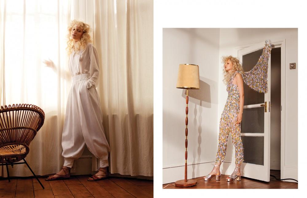 Total look / Ralph Lauren Opposite Jumpsuit / Vivienne Westwood Gold Label Boots / CHANEL