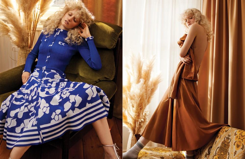 Total look / CHANEL Opposite Jacket & skirt / Ralph Lauren