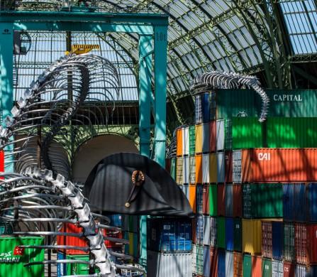 Huang Yong Ping, Empires MONUMENTA 2016 © Adagp, Paris 2016 courtesy de l'artiste et kamel mennour, Paris Photo Didier Plowy pour la Rmn-GP