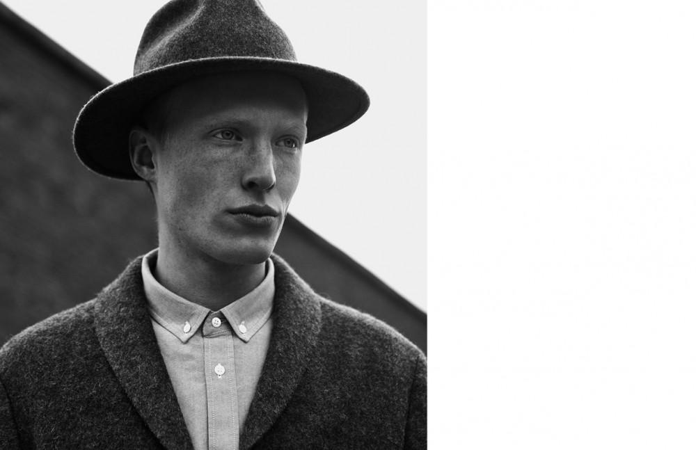 Phillip Wörtmann @ Modelwerk wears Hat / Brixton Shirt & trainers / COS Jacket / Herr von Eden