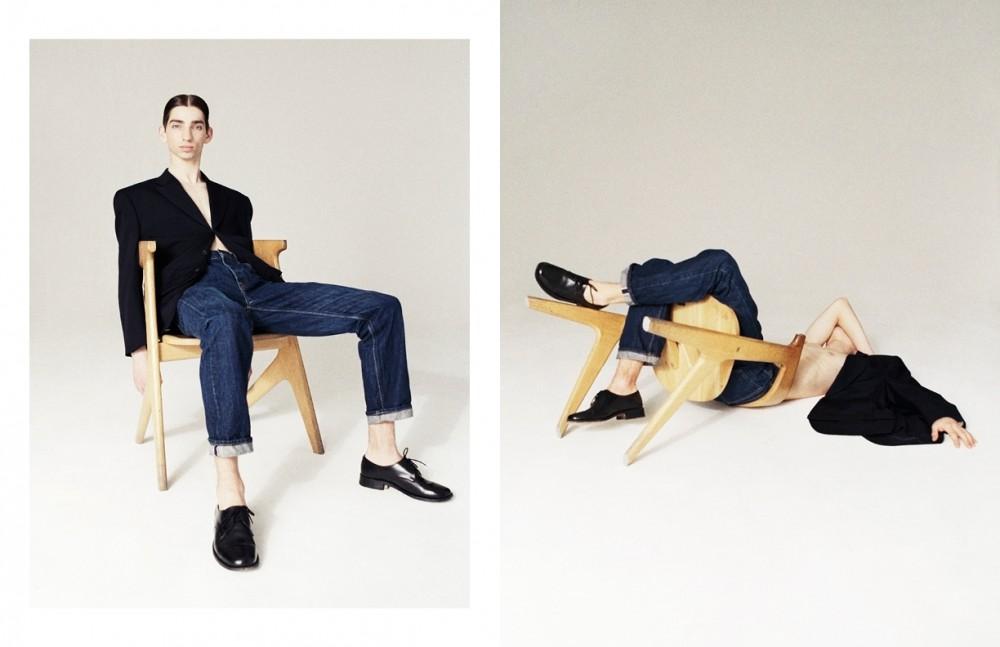 Blazer / Comme Des Garcons Homme Plus Jeans / Gap Shoes / SILVERMANS OFFICERS SHOES