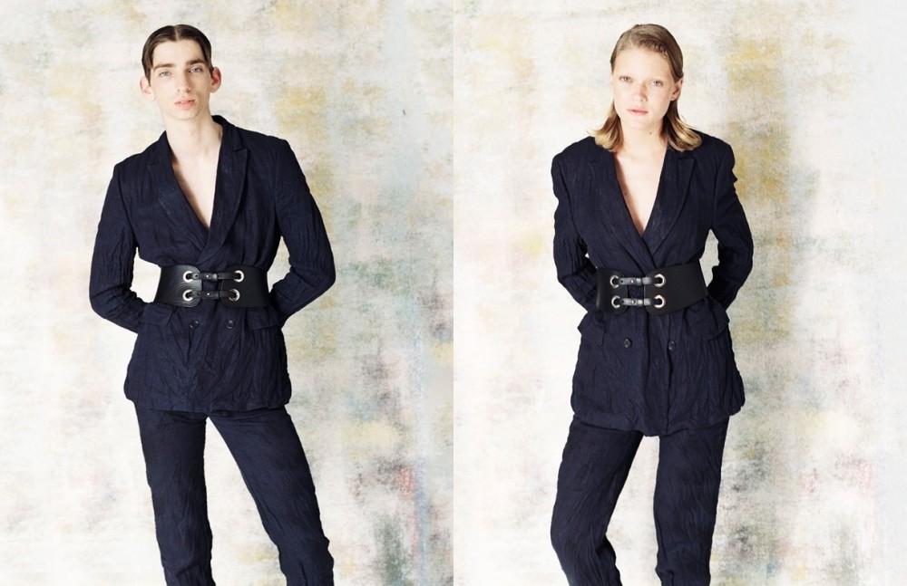 Suit / Matthew Miller Belt / Custom Made Leather
