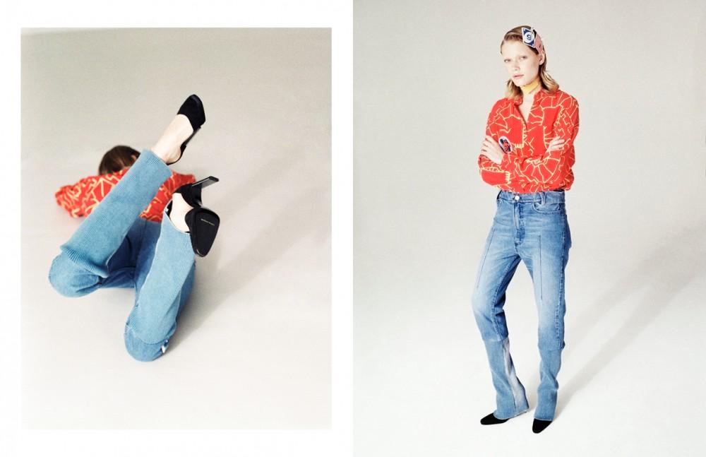 Shirt / Nicola Brindle Trousers / HAAL Shoes / Charles Jourdan Archive
