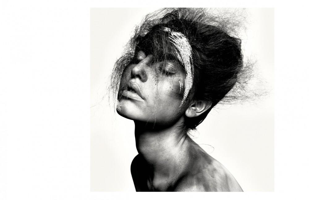 Lydia @MichaModels wears Make Up / CHANEL Modeling using Sticky Business / Kevin Murphy