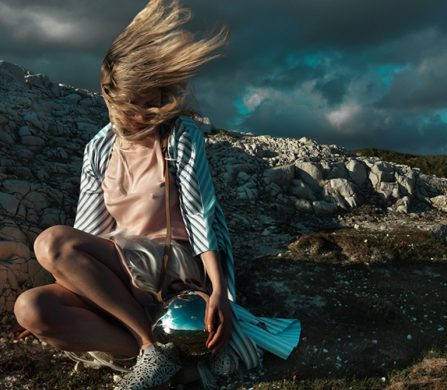Dress / Krasimira Stoyneva Jacket / SAB|NNA Shoes / APUJAN Bag / Persephoni