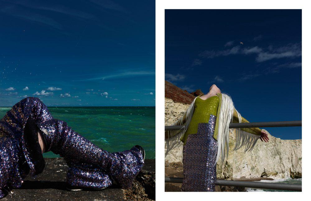 Dress & Stockings / Point Blank Opposite Dress & Stockings / Point Blank Jacket / Krasimira Stoyneva