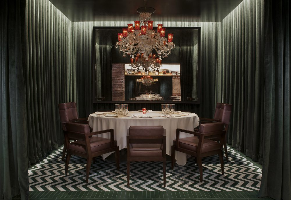 cleo at sls las vegas private dining room credit ryan forbes