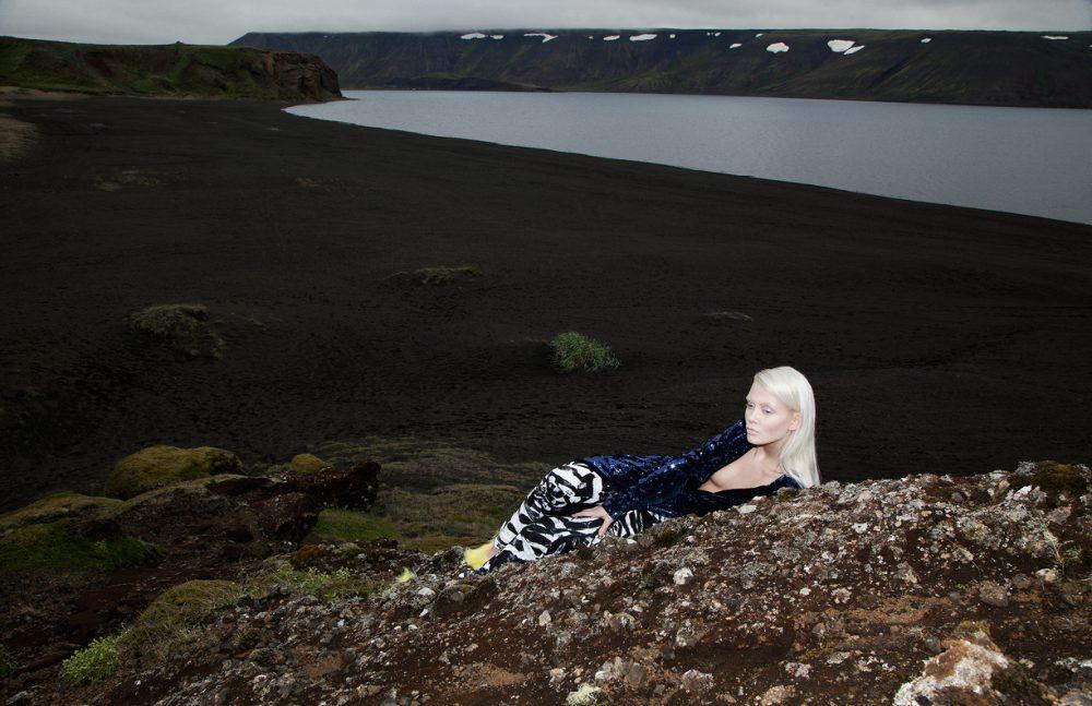 Dress, Trousers & Shoes / Ólöf Sigríður Jóhannsdóttir  Earring / Fashionology
