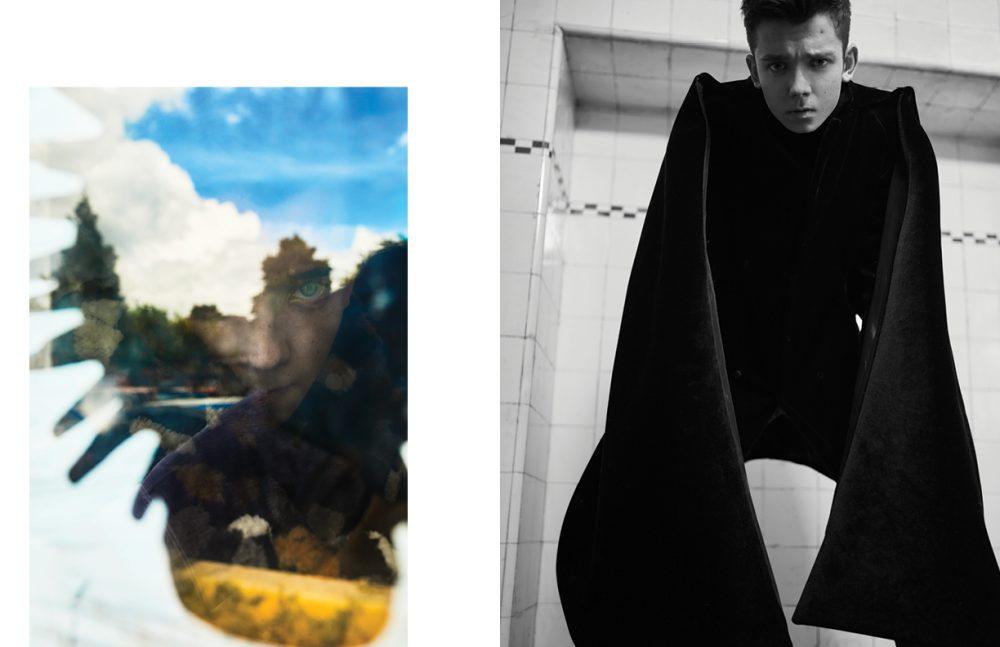 Left Coat / Fendi Right Coat / Emporio Armani