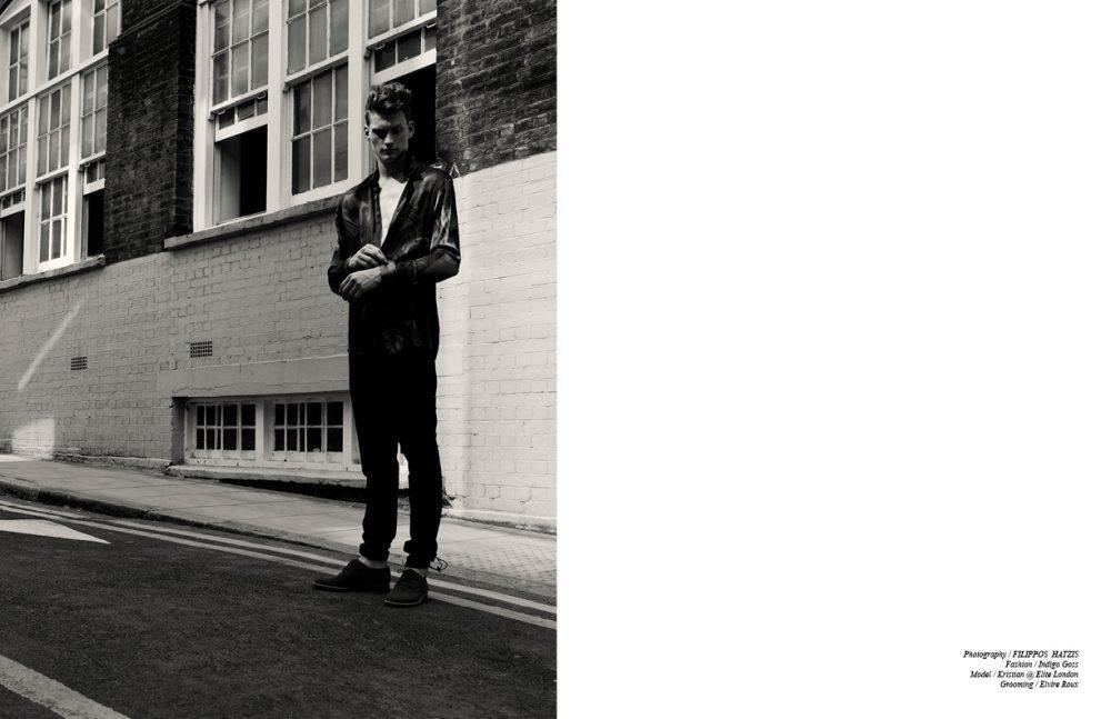 Shirt / Adnan Ebo  Trousers / Trussardi  Shoes / Manolo Blahnik