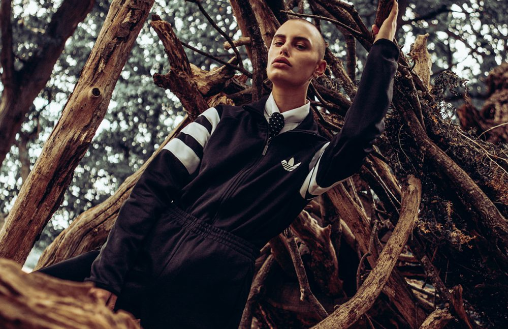 Jacket & bottoms / adidas  Shirt / HUGO BOSS Tie / Stylist's Own