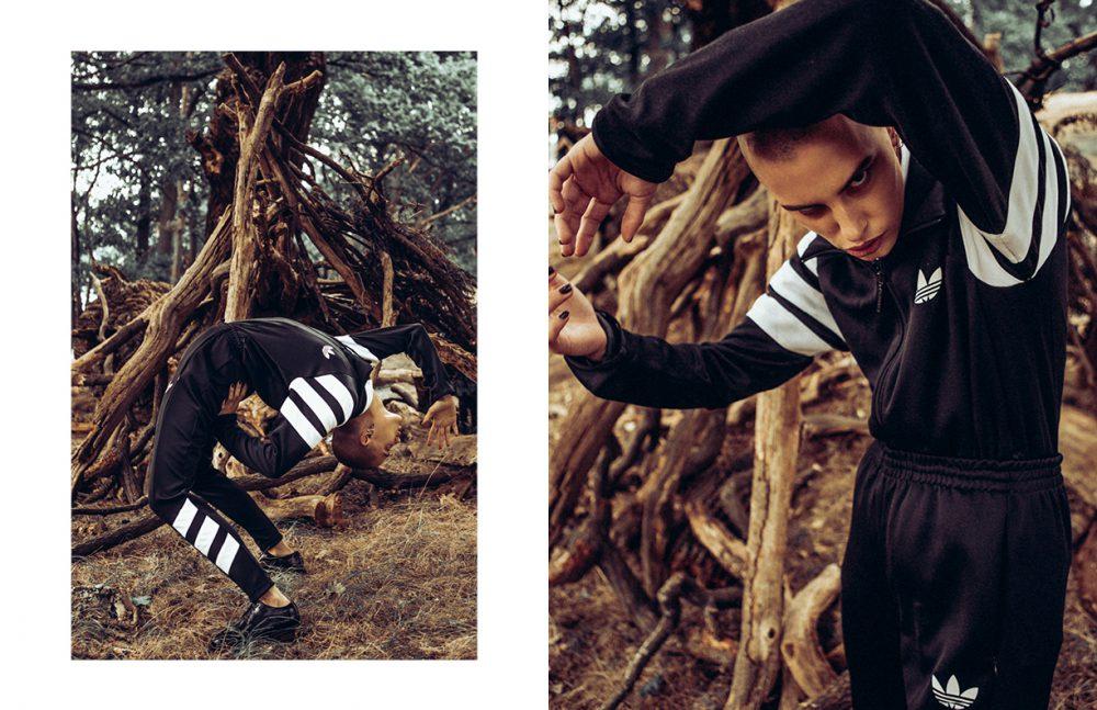 Jacket & bottoms / adidas  Shirt / HUGO BOSS  Shoes / Hudson