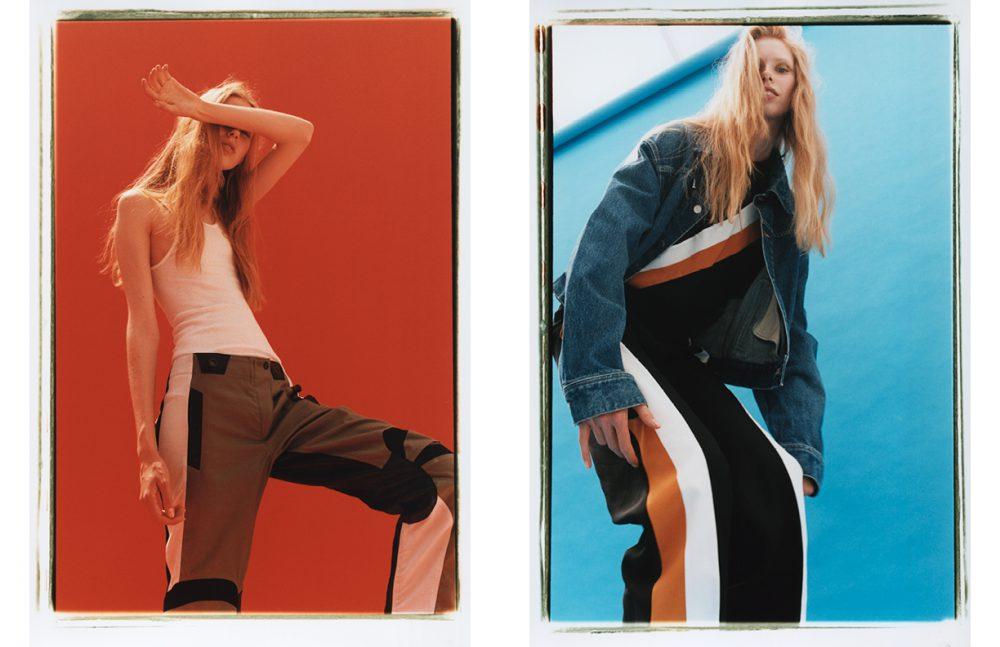 Top / Hanes Trousers / rag & bone Opposite Shirt & Trousers / Stella McCartney Jacket / AMBUSH®