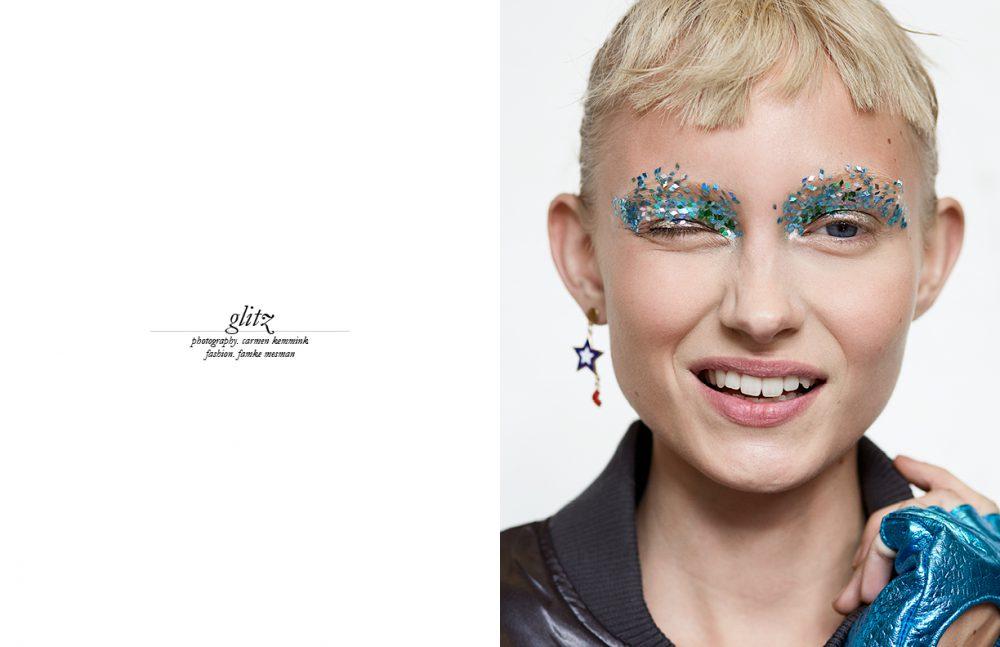Bomber / ASOS Earring / MANGO Glove / Juli Dans Jewels