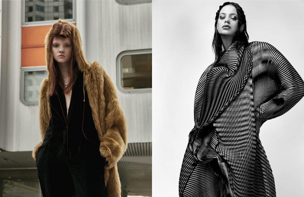 Coat / Essentiel Antwerp Overall / Emanuel Ungaro Opposite Coat / Issey Miyake