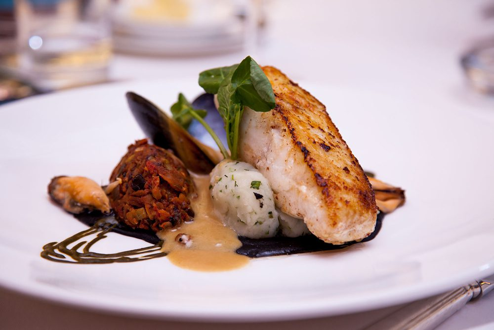 Orestone's restaurant serves the finest local produce