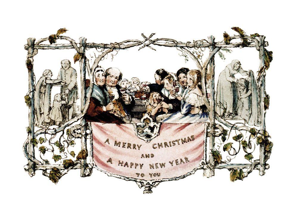 John Callcott Horsley's famous Christmas card