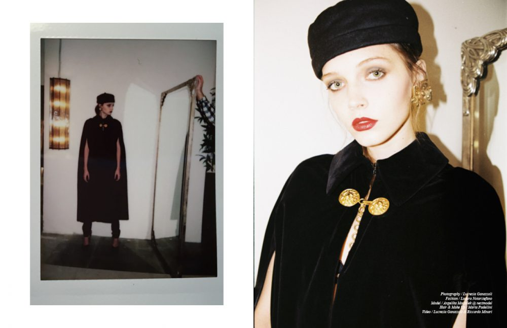 Coat, Denim, Shoes & Hat / YSL Jewels / Vintage