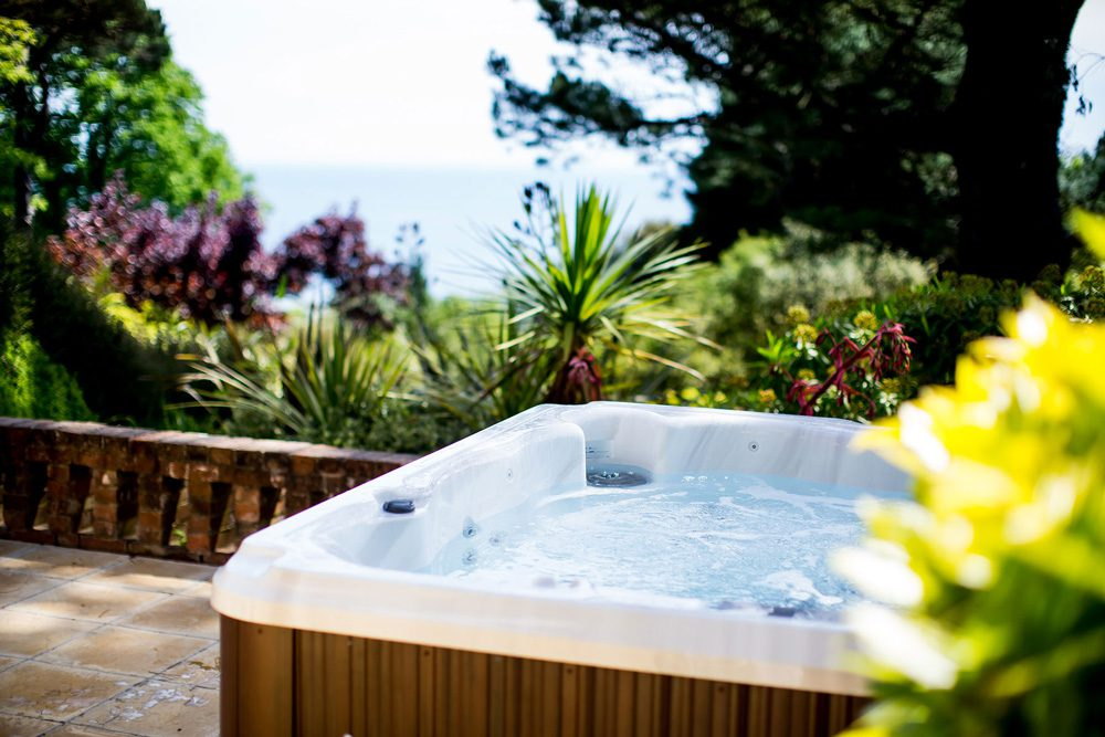 The Garden and Coach House Suites boast private hot tubs.