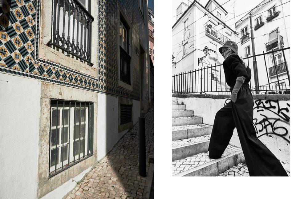 Hat / REPTO Body / Nizza Trousers / Pedro Pedro