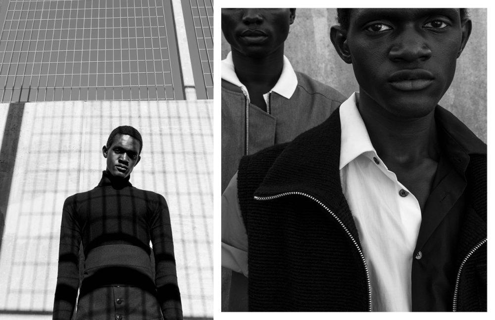 Turtleneck / Lemaire (SS17) Trousers / 3.Paradis (SS17) Opposite Jacket & Vest / 3.Paradis (SS17) Shirt / Raf Simons (Archive)