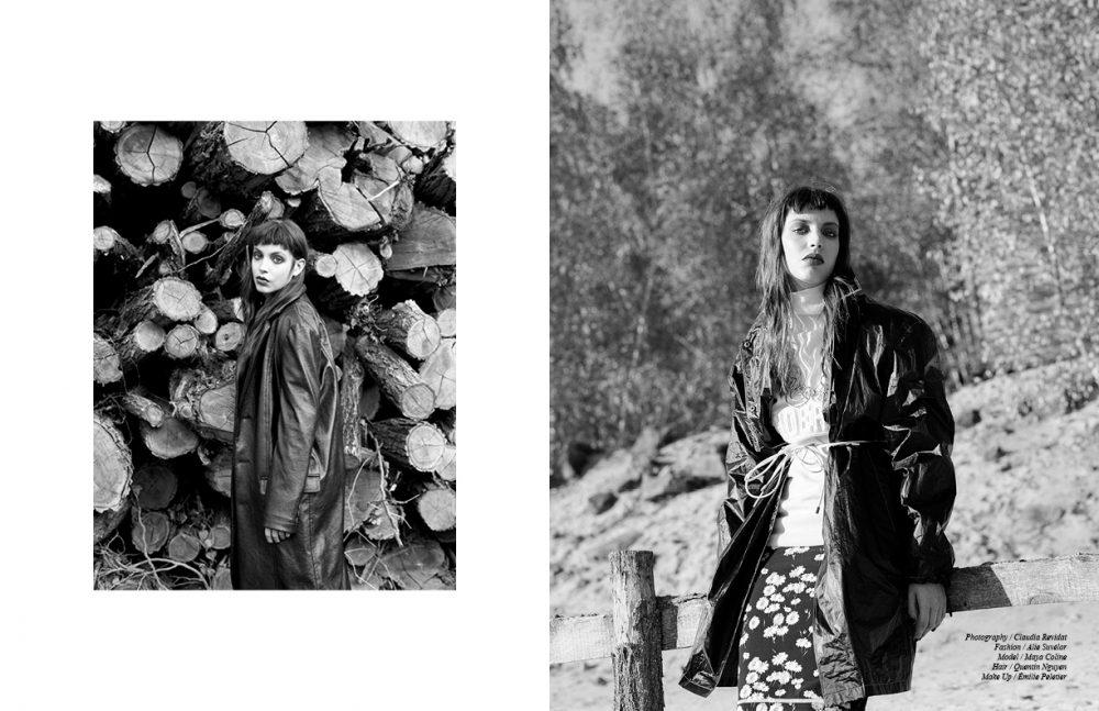 Jacket / Julien David Opposite Jumper / JUUN. J Skirt / Paco Rabanne Jacket / Prada Jewellery / CHANEL