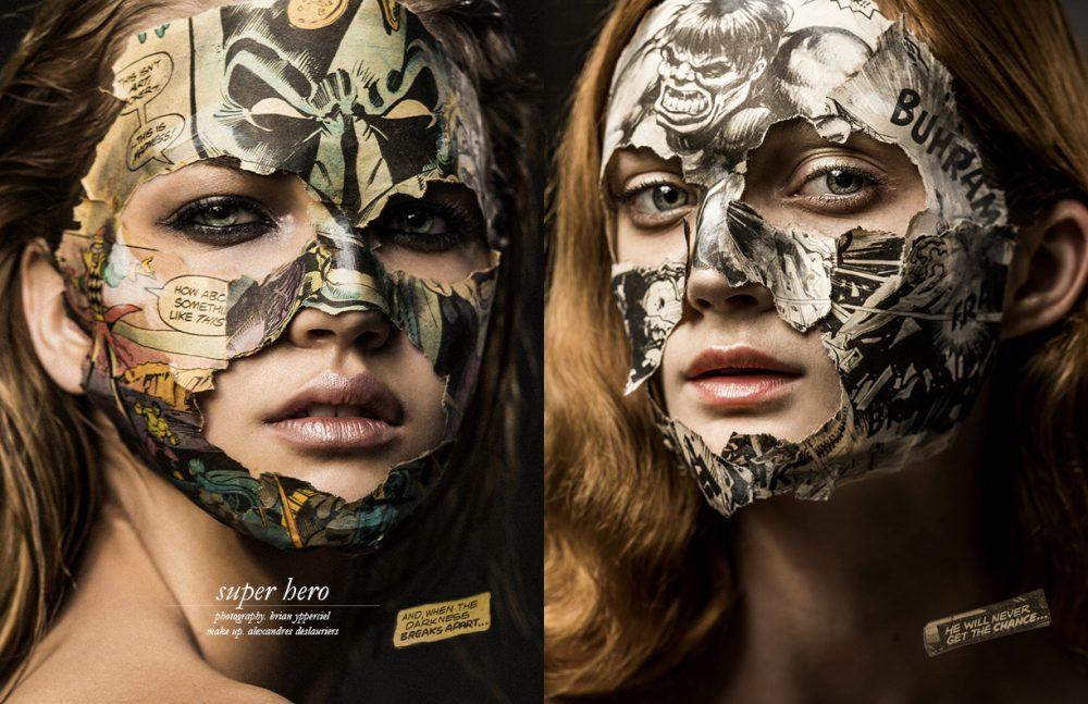 Lucie @ Ema / Chantale Nadeau Opposite Sophie Touchet @ Chantale Nadeau / Montage