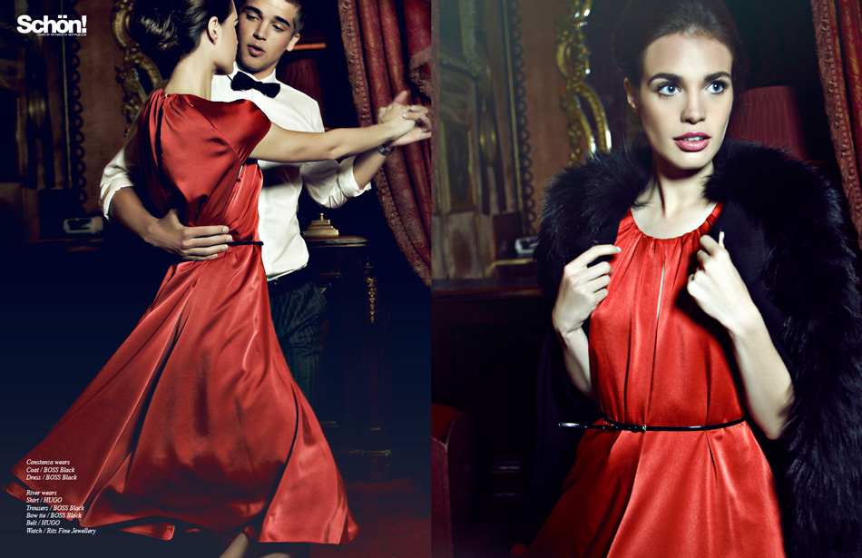 Casino Royale / River Viiperi & Constanza Saravia for Hugo Boss