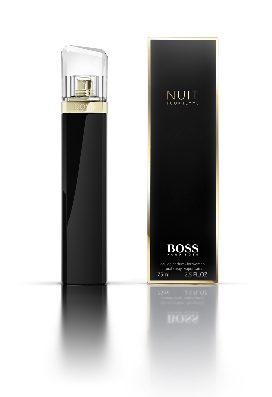 BOSS Nuit Pour Femme is available nationwide.