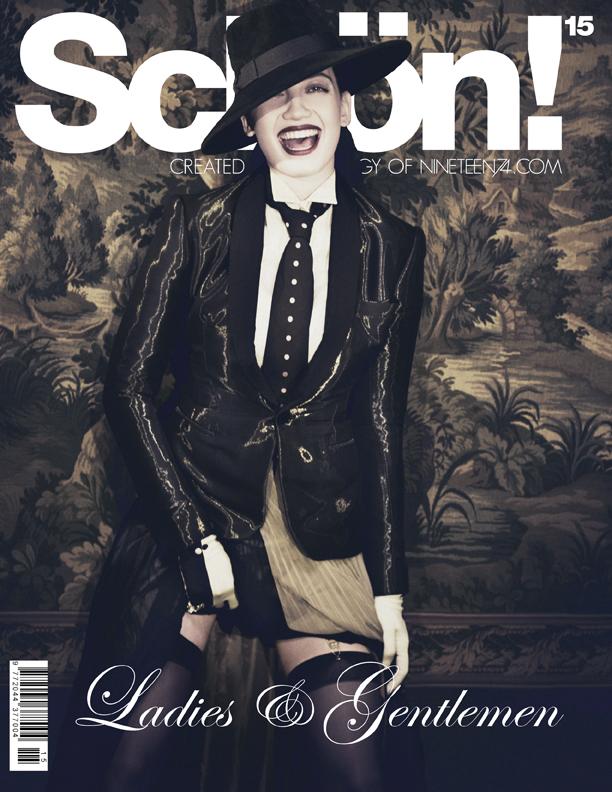 Ladies & Gentlemen: Daisy Lowe Is Unrecognizable in The Magazine SchöN! Magazine