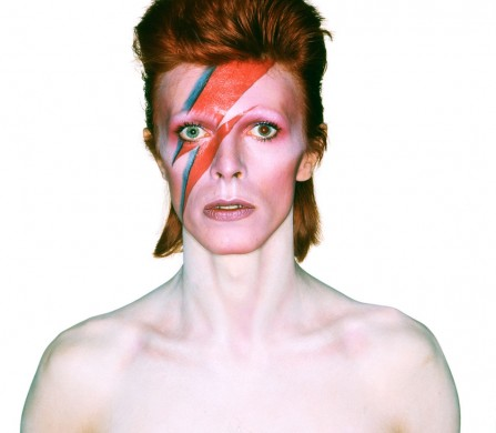 Album cover shoot for Aladdin Sane 1973 /Photograph by Brian Duffy /Duffy Archive
