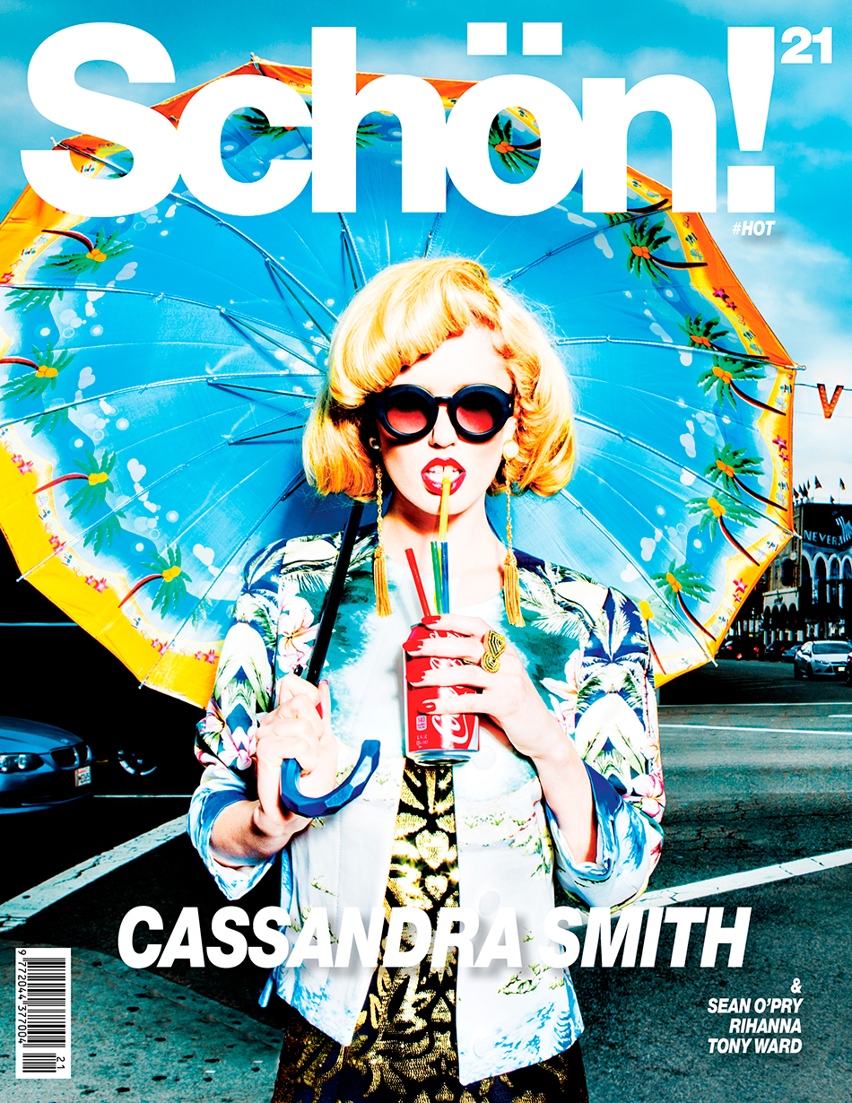 Cover / Cassandra Smith @ Next Models by Miguel Starcevich @ De Annesley Agency Producer / Annabel Schofield @ Bella*Bene Productions, De Annesley Agency Fashion / Luke Storey Jacket / Stella McCartney Dress / Moschino Sunglasses / Grey Ant Earrings / Courtesy of Palace Costume Co. Ring / Loree Rodkin