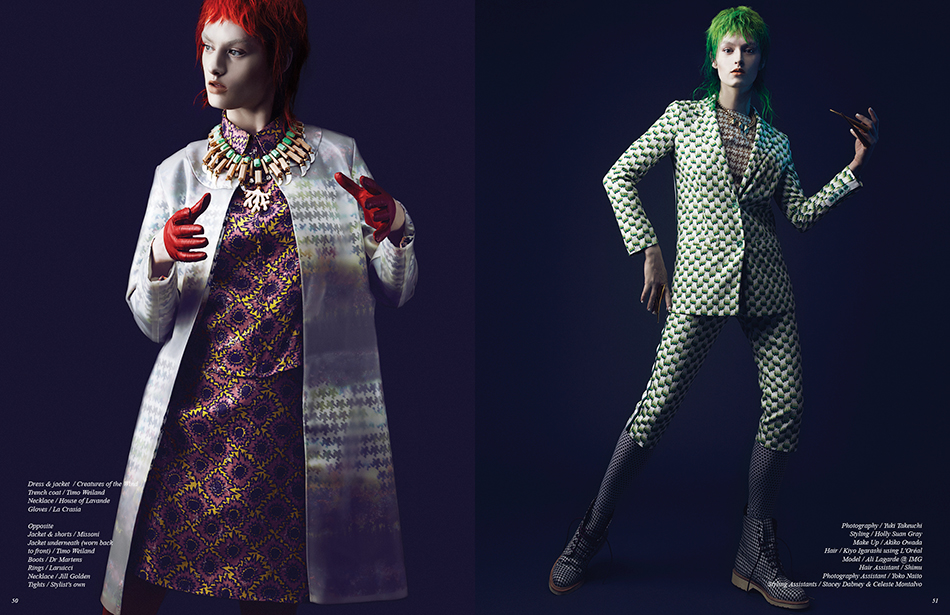Photography / Yuki Takeuchi Styling / Holly Suan Gray