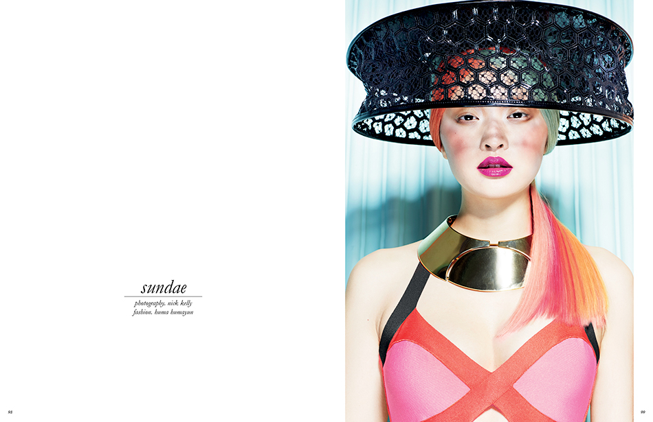 Photography / Nick Kelly Fashion Editor / Huma Humayun