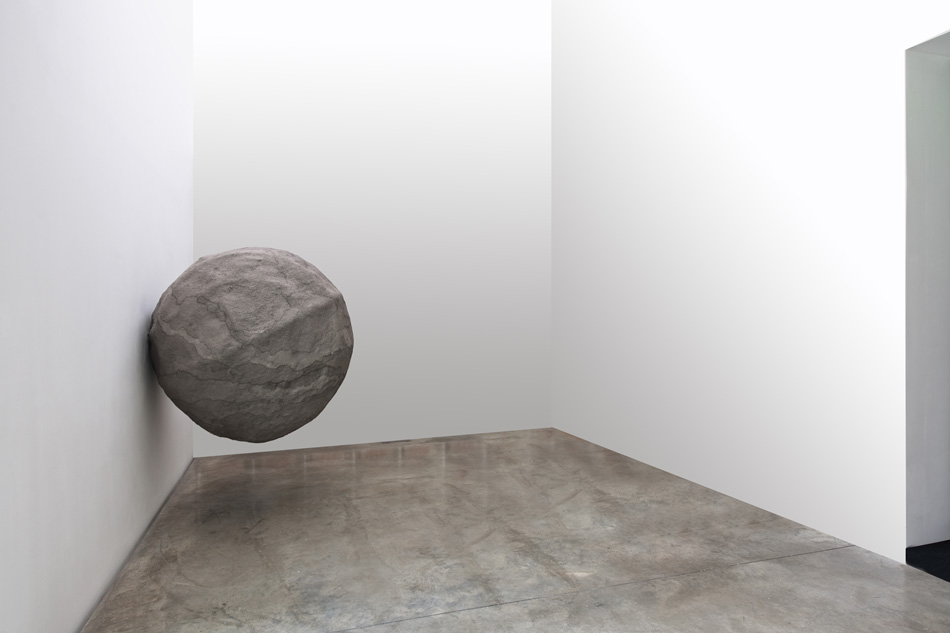 Rebecca Turner Dumbstruck 2011 Paper pulp, mixed media 150 cm in diameter ©Rebecca Turner Image courtesy of the Saatchi Gallery, London