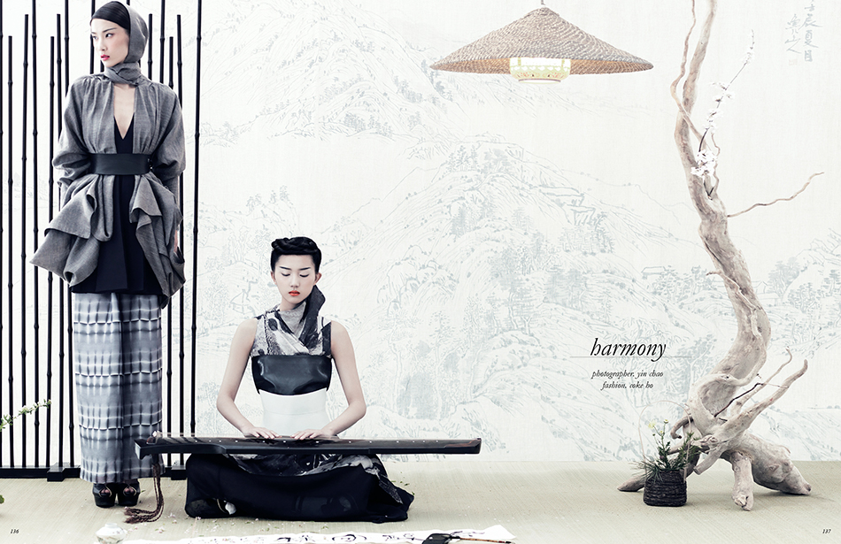 Photographer / Yin Chao Styling / Coke Ho