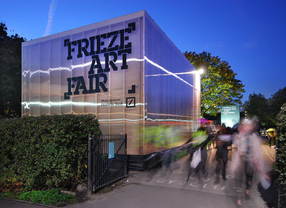 Frieze London 2012 Photograph by Lyndon Douglas